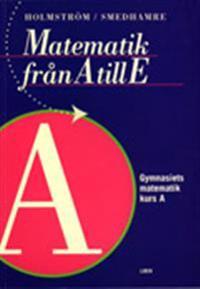 Matematik från A till E Kurs A