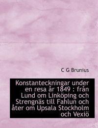 Konstanteckningar Under En Resa AR 1849 - C G Brunius pdf epub