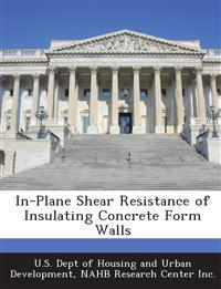 In-Plane Shear Resistance of Insulating Concrete Form Walls