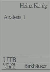 Analysis I