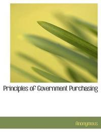 Principles of Government Purchasing