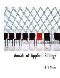 Annals of Applied Biology