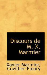 Discours De M. X. Marmier