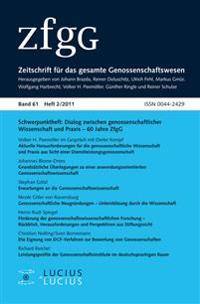 Dialog zwischen genossenschaftlicher Wissenschaft und Praxis - 60 Jahre ZfgG