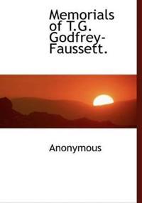 Memorials of T.G. Godfrey-Faussett.