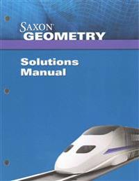 Saxon Geometry Solution Manual