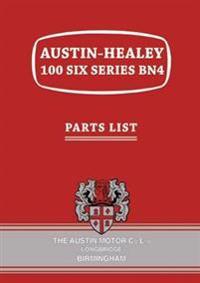 Austin-Healey 100 Six Series BN4 Parts List