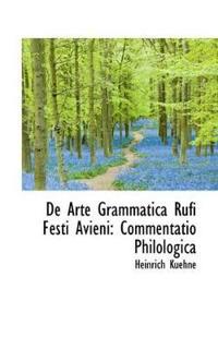 de Arte Grammatica Rufi Festi Avieni