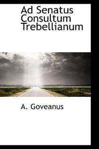 Ad Senatus Consultum Trebellianum