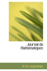 Journal de Math Matiques