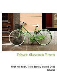 Epistol Obscvrorvm Virorvm