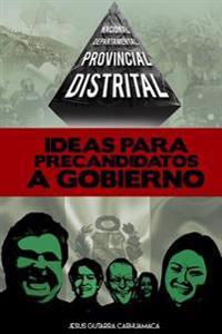 Ideas Para Precandidatos a Gobierno: Distrital, Provincial, Departamental, Nacional