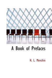 A Book of Prefaces