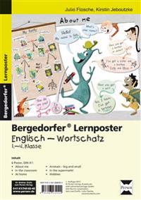 Lernposter Englisch - Wortschatz