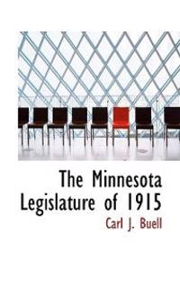 The Minnesota Legislature of 1915