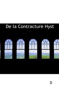 De La Contracture Hysterique Permanente