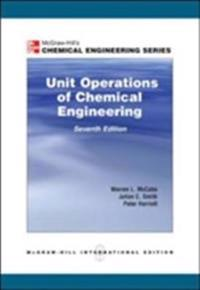 Unit operations of chemical engineering (intl ed)