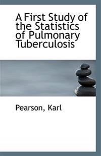 A First Study of the Statistics of Pulmonary Tuberculosis
