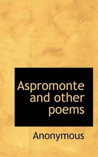 Aspromonte and Other Poems