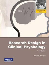 research design in clinical psychology pdf