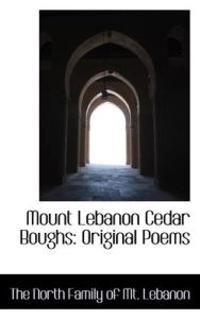 Mount Lebanon Cedar Boughs