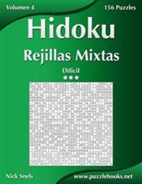 Hidoku Rejillas Mixtas - Dificil - Volumen 4 - 156 Puzzles