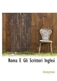 Roma E Gli Scrittori Inglesi