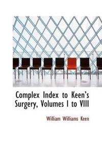 Complex Index to Keen's Surgery