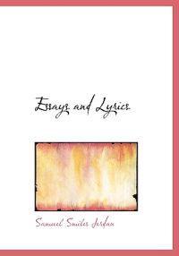 Essays and Lyrics
