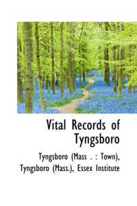 Vital Records of Tyngsboro
