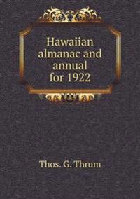 Hawaiian Almanac and Annual for 1922