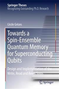 Towards a Spin-ensemble Quantum Memory for Superconducting Qubits