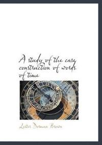 A Study of the Case Construction of Words of Time