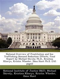 National Overview of Prostitution and Sex Trafficking Demand Reduction Efforts, Final Report by Michael Shively PH.D., Kristina Kliorys, Kristin Wheeler, Dana Hunt PH.D. (245 Pages)