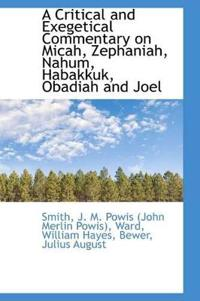 A Critical and Exegetical Commentary on Micah, Zephaniah, Nahum, Habakkuk, Obadiah, and Joel