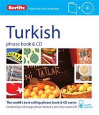 Berlitz Turkish Phrase Book & CD