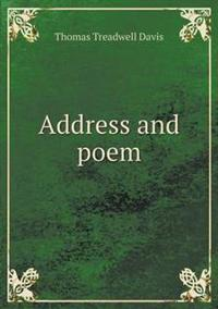 Address and Poem