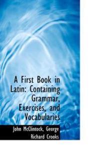 A First Book in Latin