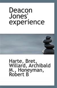 Deacon Jones' Experience