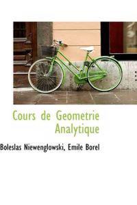 Cours De Geometrie Analytique