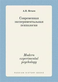 Modern Experimental Psychology