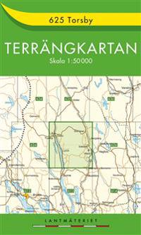 625 Torsby Terrängkartan : 1:50000