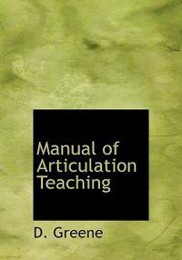 Manual of Articulation Teaching