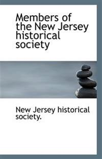 Members of the New Jersey historical society