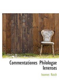 Commentationes Philologae Ienenses