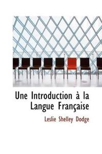 Une Introduction La Langue Fran Aise