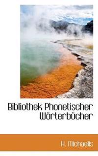 Bibliothek Phonetischer W Rterb Cher