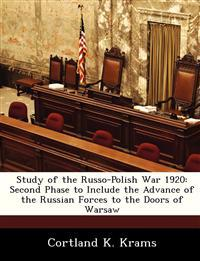 Study of the Russo-Polish War 1920