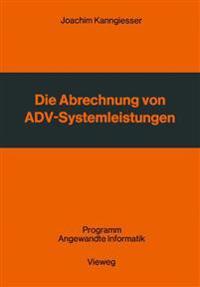 Die Abrechnung Von Adv-systemleistungen