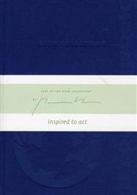 Blå Klum Collection Anteckningsbok illustrerad av Mattias Klum